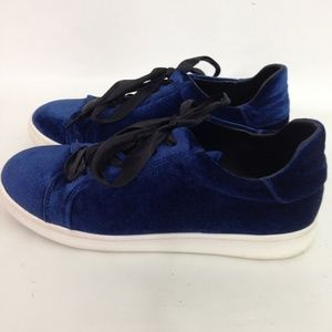 Sam Edelman Blue Velvet Sneakers 8